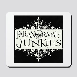 Paranormal-Junkies Logo Mousepad