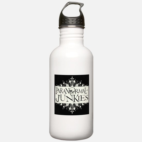 Paranormal-Junkies Logo Water Bottle