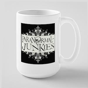 Paranormal-Junkies Logo Large Mug