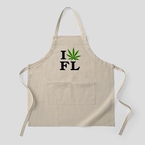 I Love Cannabis Florida Apron