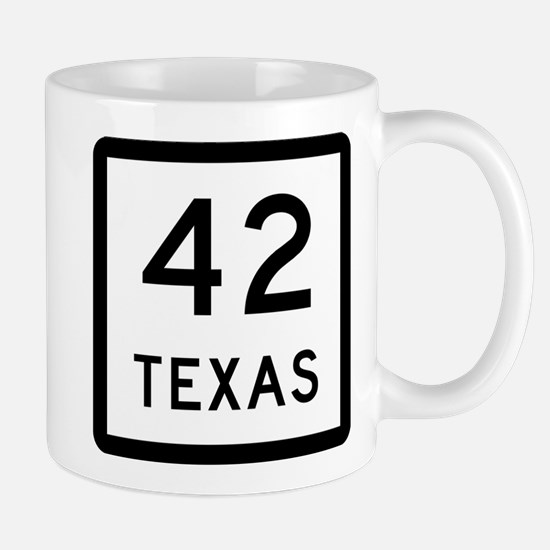 Texas 42 Mug