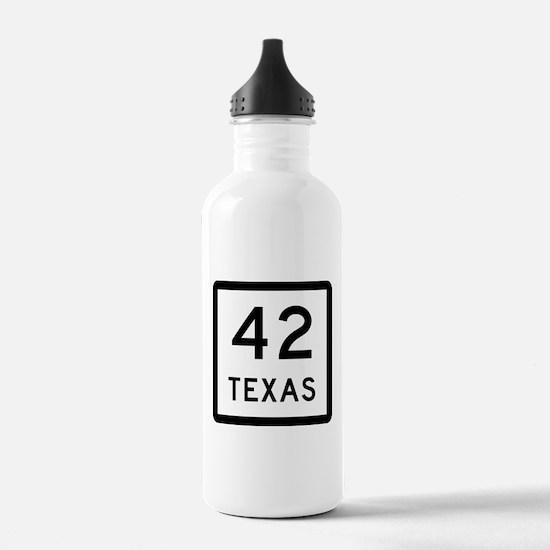 Texas 42 Water Bottle