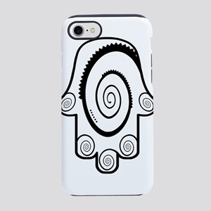 Hamsa Big Swirl iPhone 7 Tough Case