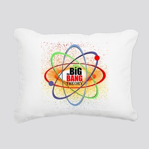 Big Bang Theory Brights Rectangular Canvas Pillow