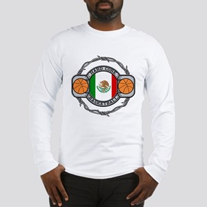 Mexico Basketball Long Sleeve T-Shirt