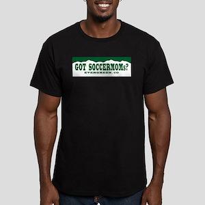 Got SoccerMoms - Men's Fitted T-Shirt (dark)
