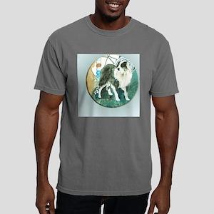 misty button Mens Comfort Colors Shirt