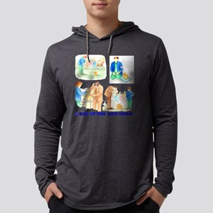 A Day At The Dog Show Mens Hooded Shirt