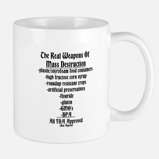 The Real Weapons Of Mass Destruction Mug