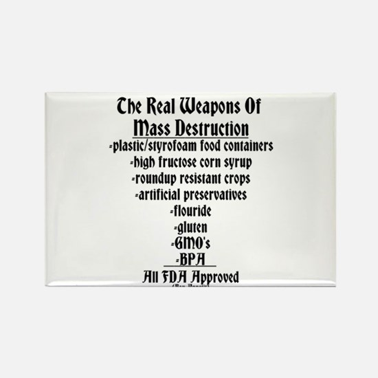 The Real Weapons Of Mass Destruction Rectangle Mag