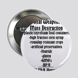 "The Real Weapons Of Mass Destruction 2.25"" Button"