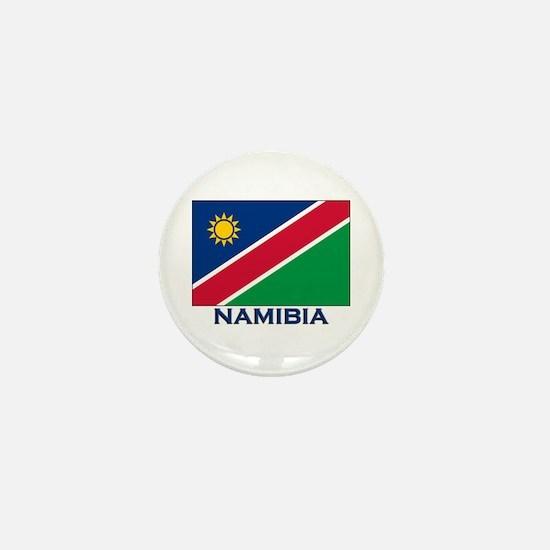 Namibia Flag Merchandise Mini Button