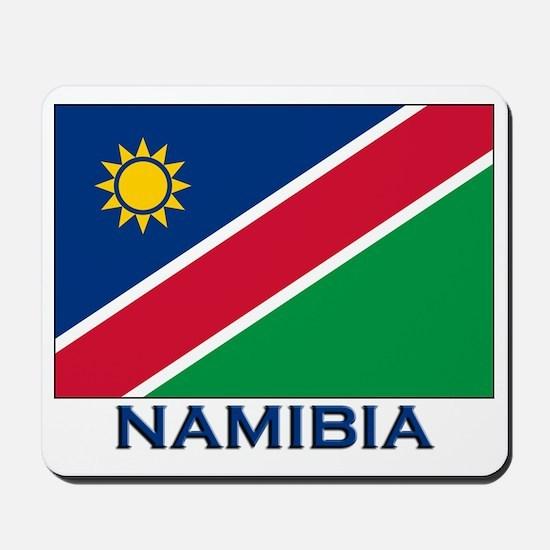 Namibia Flag Merchandise Mousepad