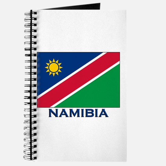 Namibia Flag Merchandise Journal
