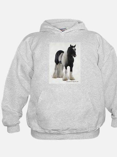 Hoody Featuring Gypsy Stallion Mickey Finn
