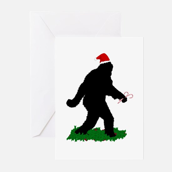 Christmas Squatchin Greeting Cards (Pk of 10)