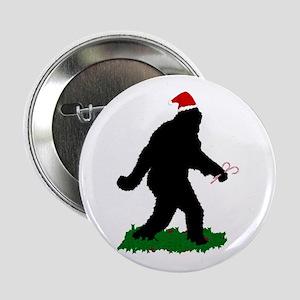 "Christmas Squatchin 2.25"" Button"
