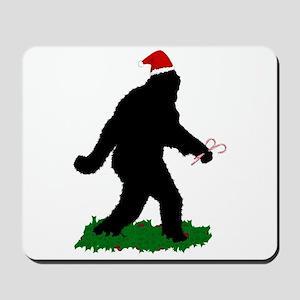 Christmas Squatchin Mousepad