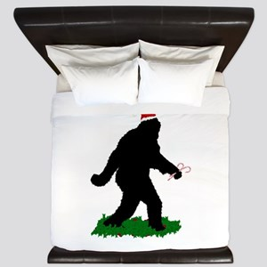 Christmas Squatchin King Duvet