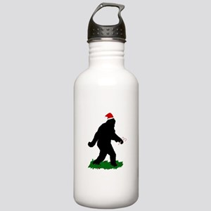 Christmas Squatchin Stainless Water Bottle 1.0L