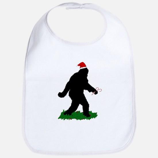 Christmas Squatchin Bib