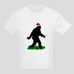 Christmas Squatchin Kids Light T-Shirt
