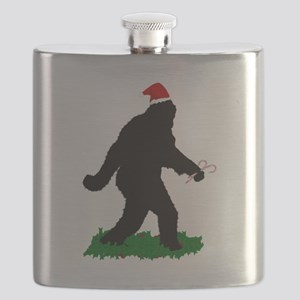 Christmas Squatchin Flask