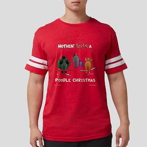 PoodleShirtTrans Mens Football Shirt
