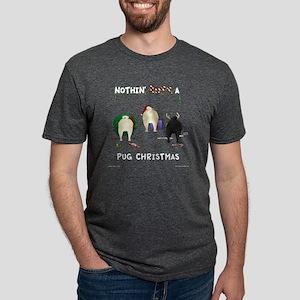 PugShirtTrans Mens Tri-blend T-Shirt