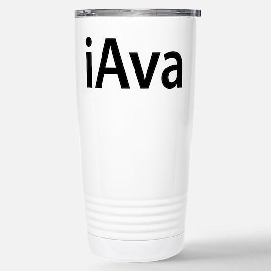 iAva Stainless Steel Travel Mug