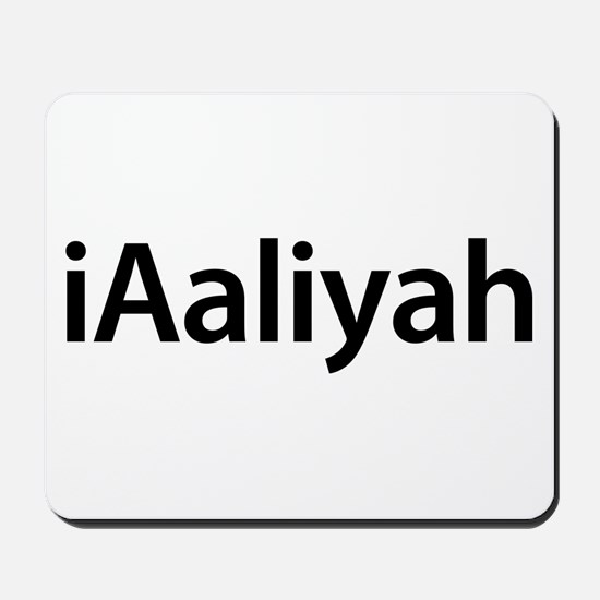iAaliyah Mousepad