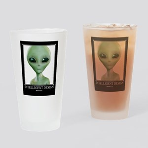 Intelligent Design: Believe in it. Drinking Glass