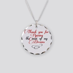 Man of my dreams Mother in law Necklace Circle Cha