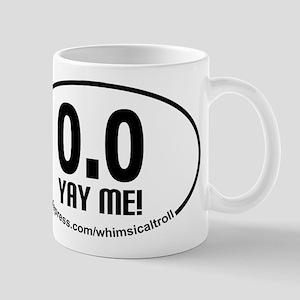Running 13.1 Spoof 0.0 Yay Me! Mug