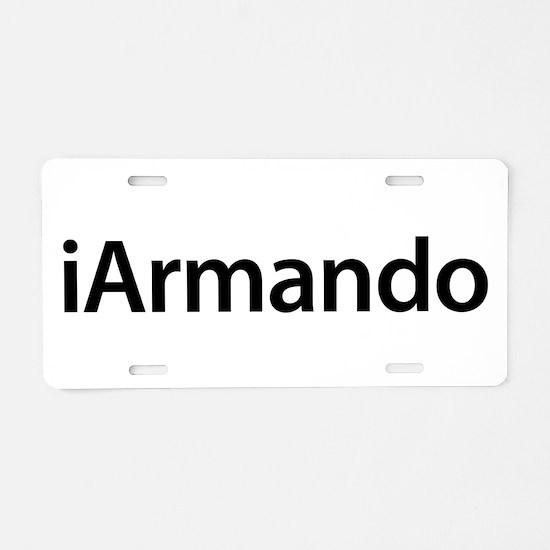 iArmando Aluminum License Plate