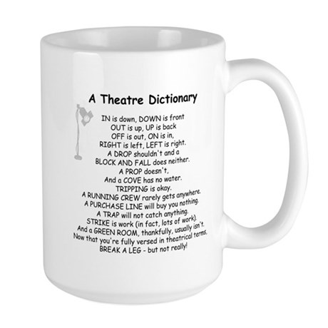 theatrepoemwhite Mugs
