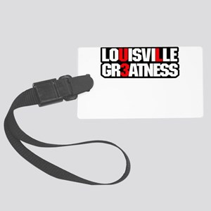 greatness tee shirt Large Luggage Tag