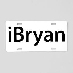 iBryan Aluminum License Plate