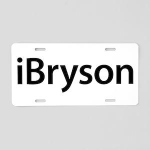 iBryson Aluminum License Plate