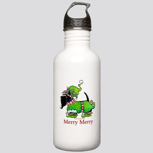 Merry Merry Scottish Terrier Stainless Water Bottl