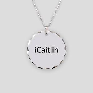 iCaitlin Necklace Circle Charm
