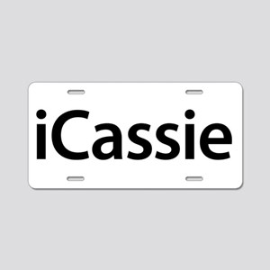 iCassie Aluminum License Plate
