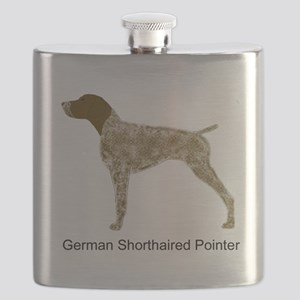 Liver & White GSP Flask