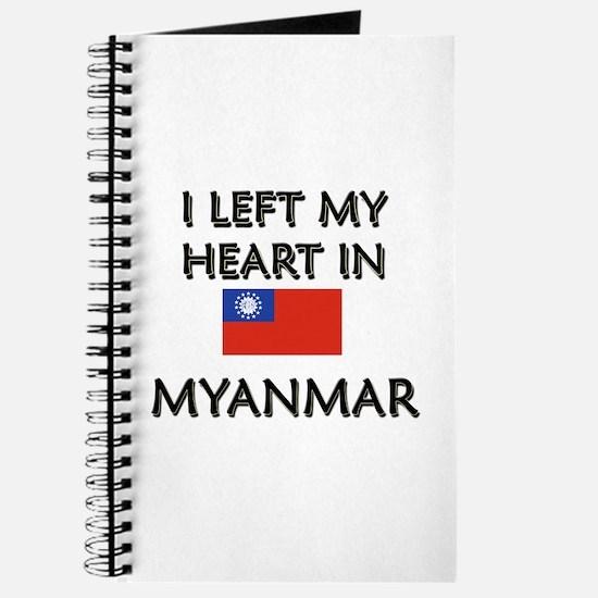 I Left My Heart In Myanmar Journal