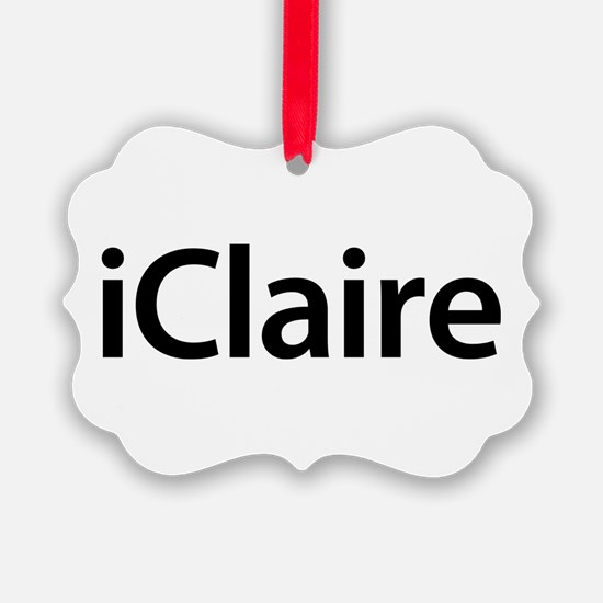 iClaire Ornament