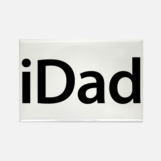 iDad Rectangle Magnet