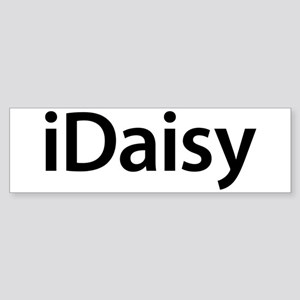 iDaisy Bumper Sticker
