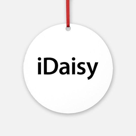 iDaisy Round Ornament
