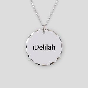 iDelilah Necklace Circle Charm