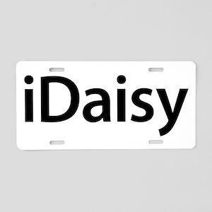 iDaisy Aluminum License Plate